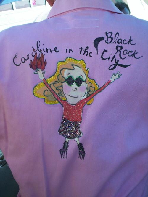 Caroline in the Black Rock City