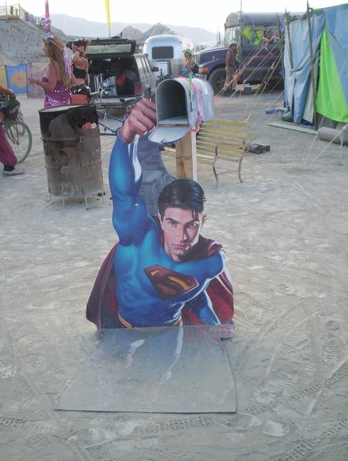 Superman Mailbox